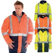 Outdoor Rain Jacket with Hi Vis Tape