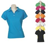 Ladies Premium Dyed Polo Shirt