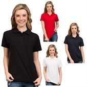 Poly Cotton Ladies Polo Shirt